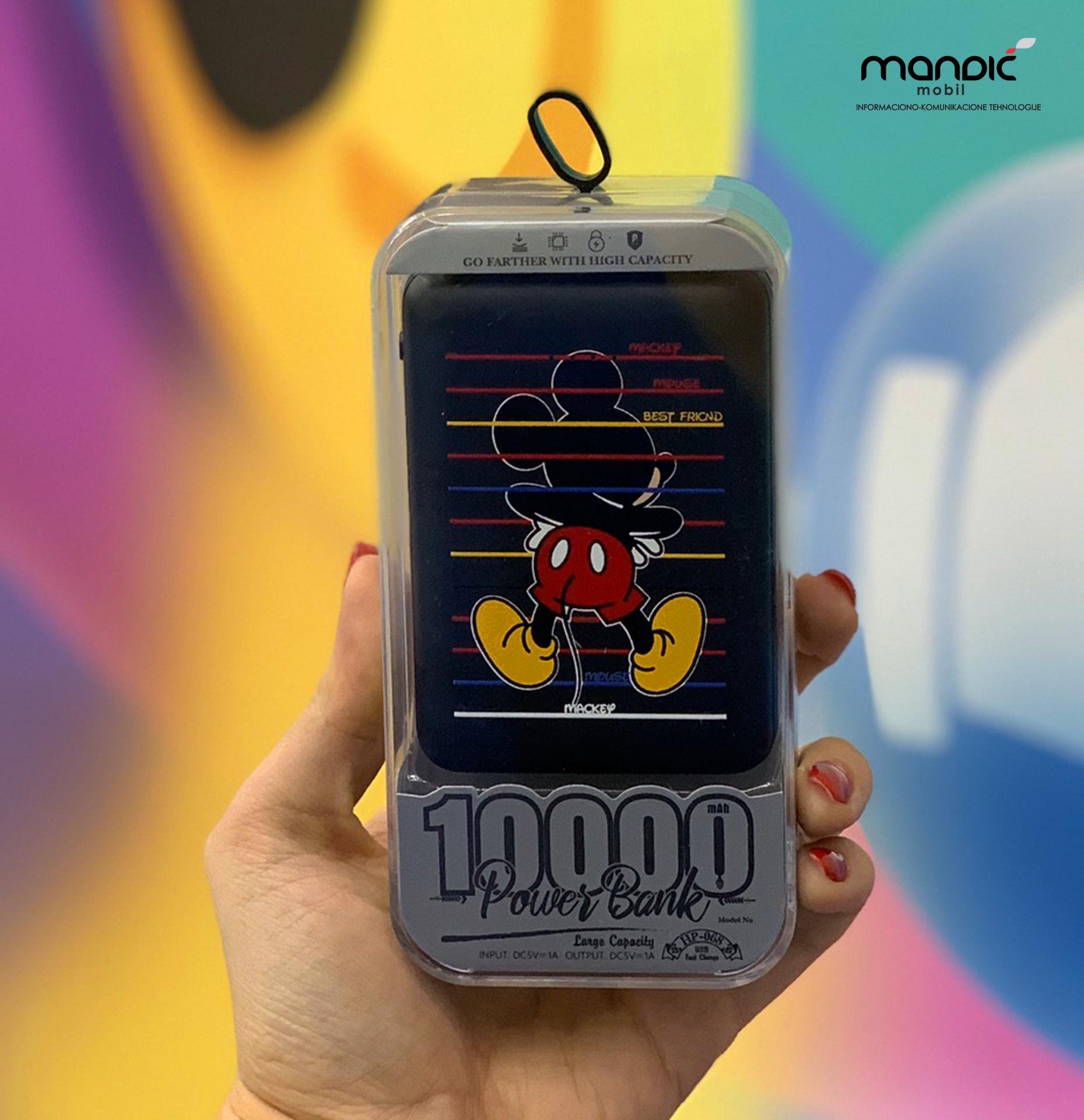 Power Bank 10.000mAh – Mickey Mouse 03