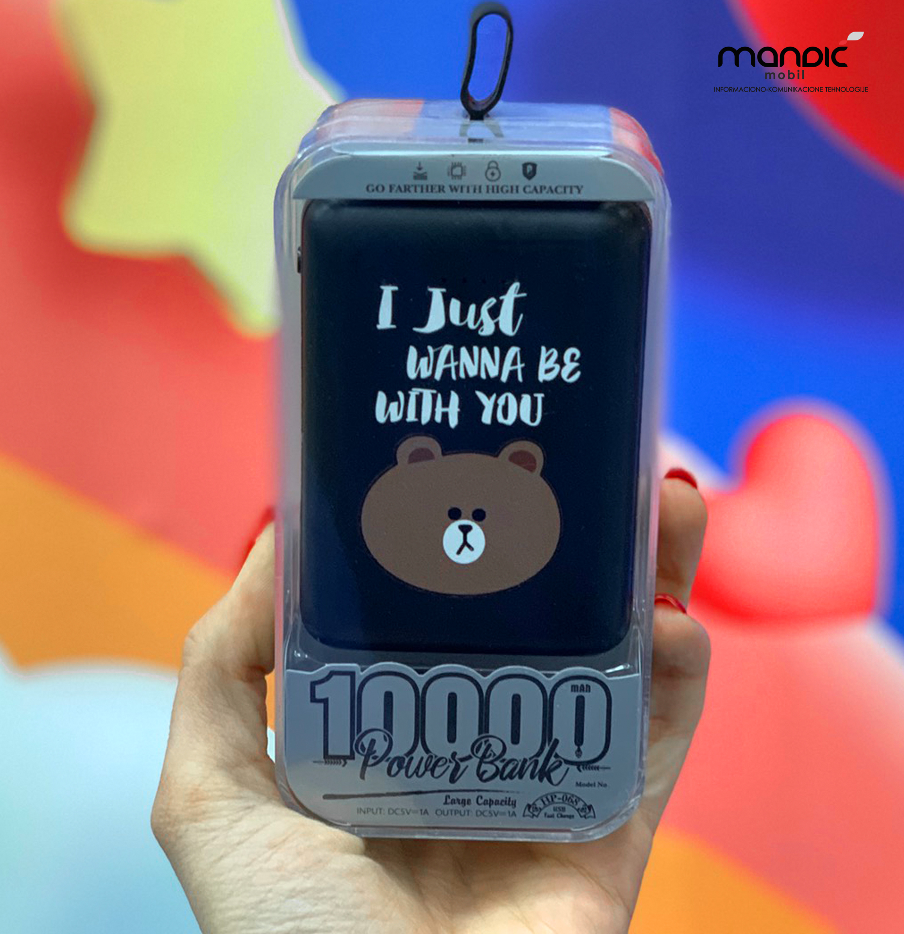 Power Bank 10.000mAh – ….With You