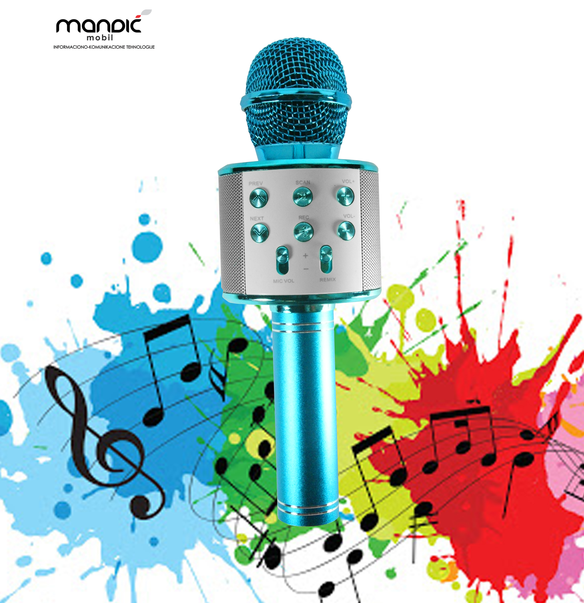 Mikrofon Karaoke